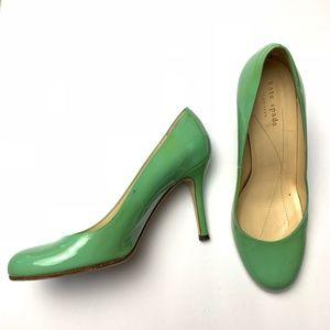 Kate Spade Green Patent Heels